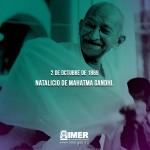 Natalicio de Mahatma Gandhi
